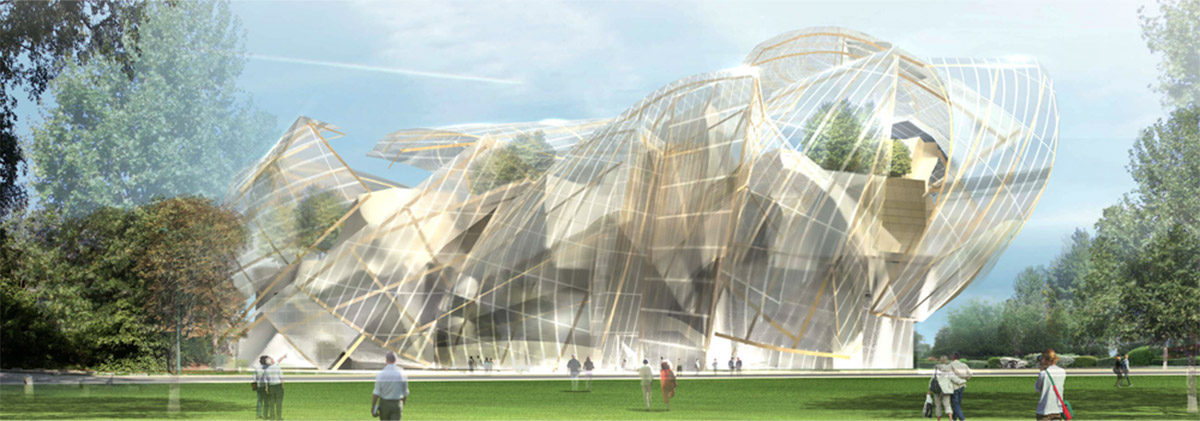 Fondation Louis Vuitton, Gehry Partners